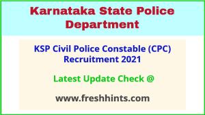 Karnataka Civil Police Constable Vacancy 2021