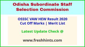 Odisha Village Agriculture Worker Selection List 2020