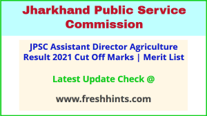 Jharkhand ADA SDAO Selection List 2021