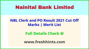 NBL Probationary Officer and Clerk Selection List 2021
