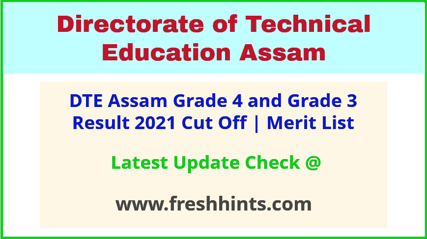 Dhemaji Engineering College Grade 3 & 4 Results 2021