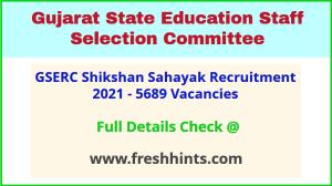 Gujarat Shikshan Sahayak Bharti