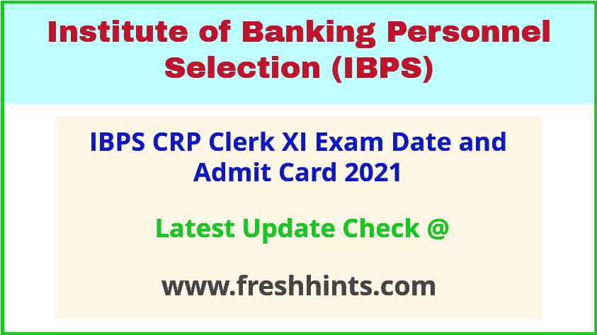 IBPS Clerk Exam Call Letter 2021