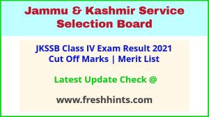 Jammu and Kashmir SSB Class IV Selection List 2021
