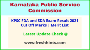 Karnataka First & Second Division Assistant Selection List 2021