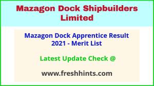 MDL Apprentice Selection List 2021