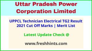 UP Electricity Department Technician Selection List 2021