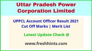UPPCL Lekha Adhikari Selection List 2021