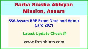 Assam Block Resource Person Exam Admit Card 2021