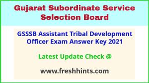 Gujarat Assistant Motor Vehicle Inspector Answer Sheet 2021