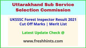 Uttarakhand Van Daroga Selection List 2021