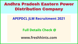 APEPDCL Lineman recruitment 2021