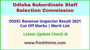 Odisha Revenue Inspector Selection List 2021