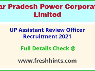 UPPCL sahayak samiksha adhikari recruitment 2021