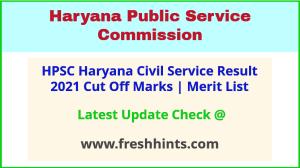Haryana Civil Service Selection List 2021