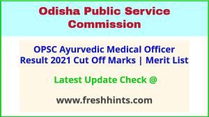 Odisha AMO Selection List 2021