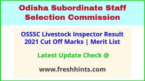 Odisha LSI Selection List 2021