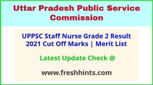 UPPSC Sister Grade 2 Selection List 2021