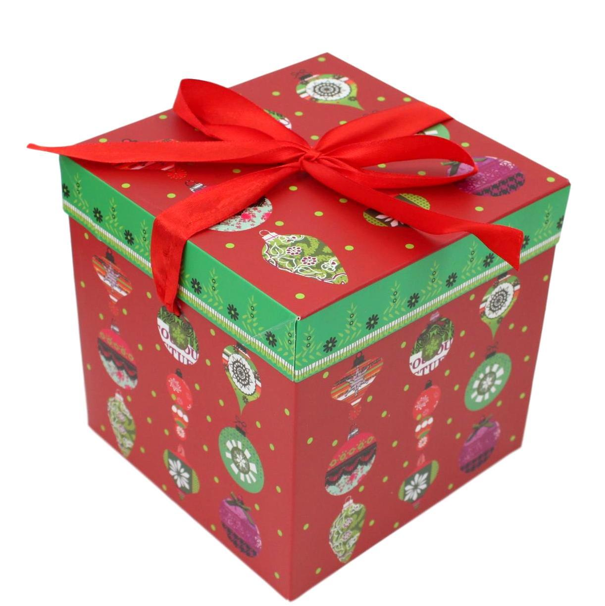 1pc 3pc Christmas Gift Box Large Present Wrapping Box Ribbon Festive Xmas Boxes Ebay