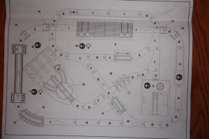 Imaginarium City Central Train Set Assembly Instructions - Layout