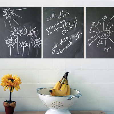 Removeable Chalkboard Panels