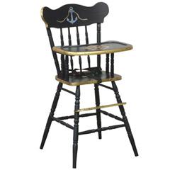 black classic high chair