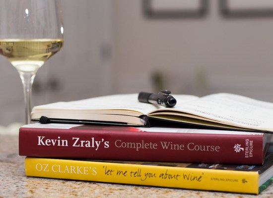 wine books & wine journal