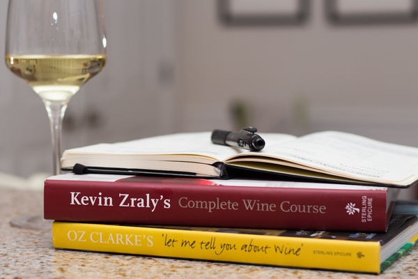 wine books & wine journal
