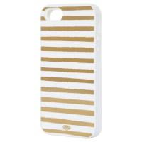 gold striped iphone case