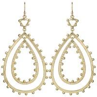 Kendra Scott Gold Drop Earrings