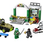 Ninja Turtle Lair Lego Juniors
