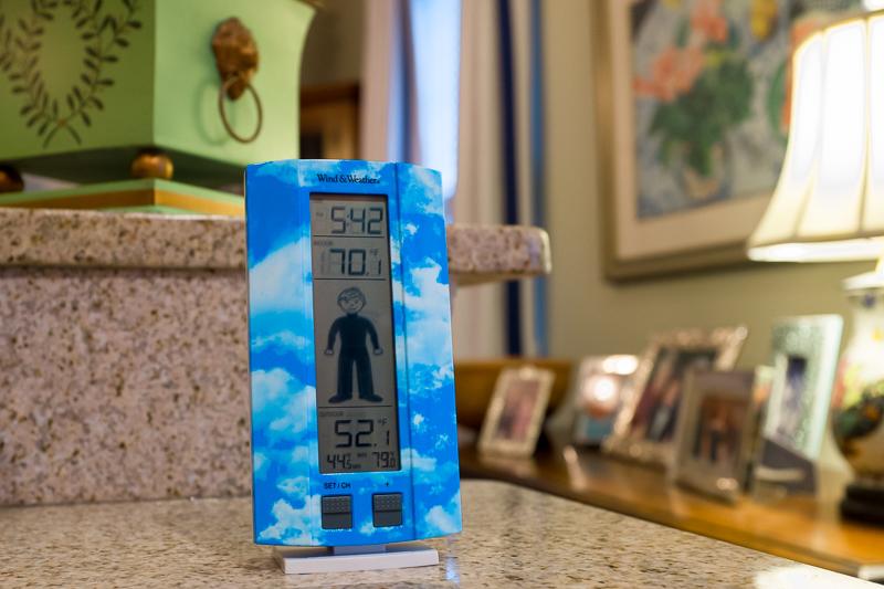 kids weather clock
