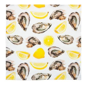 Oyster & Lemon Dinner Napkins