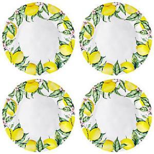 Melamine Lemon Plates