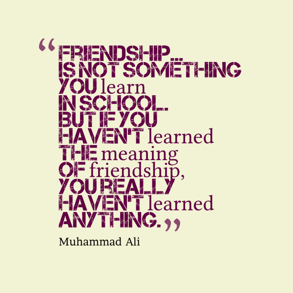 20 Most Beautiful Friendship Quotes