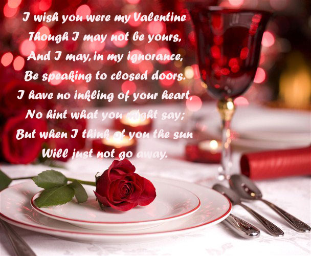 husband to wife valentine day poems valentine message for wife