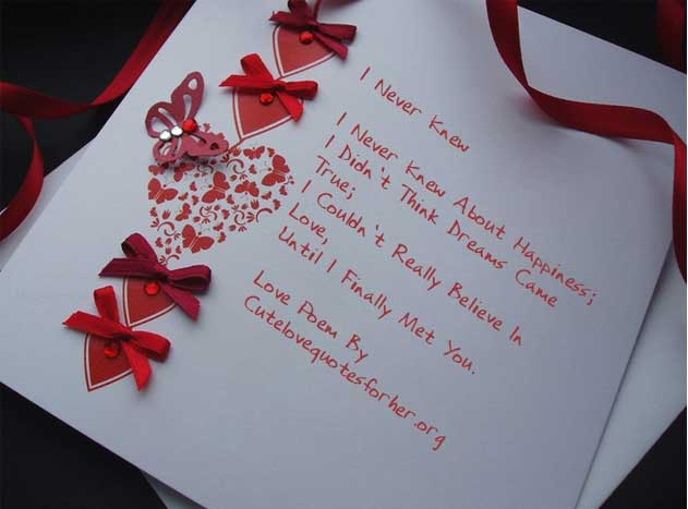 Short I Love You Poems For Her Freshmorningquotes