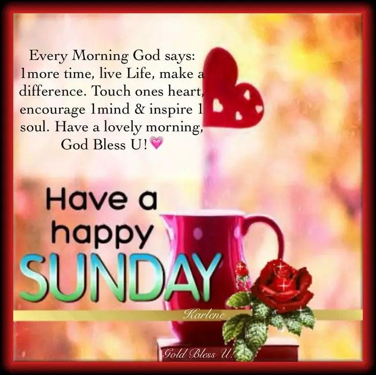 Sunday Morning Inspirational Quotes