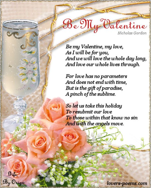 Romantic Valentines Day Poems and Beautiful lines ...