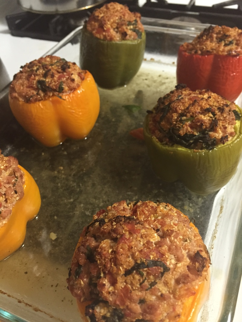 Grain-free Stuffed Peppers