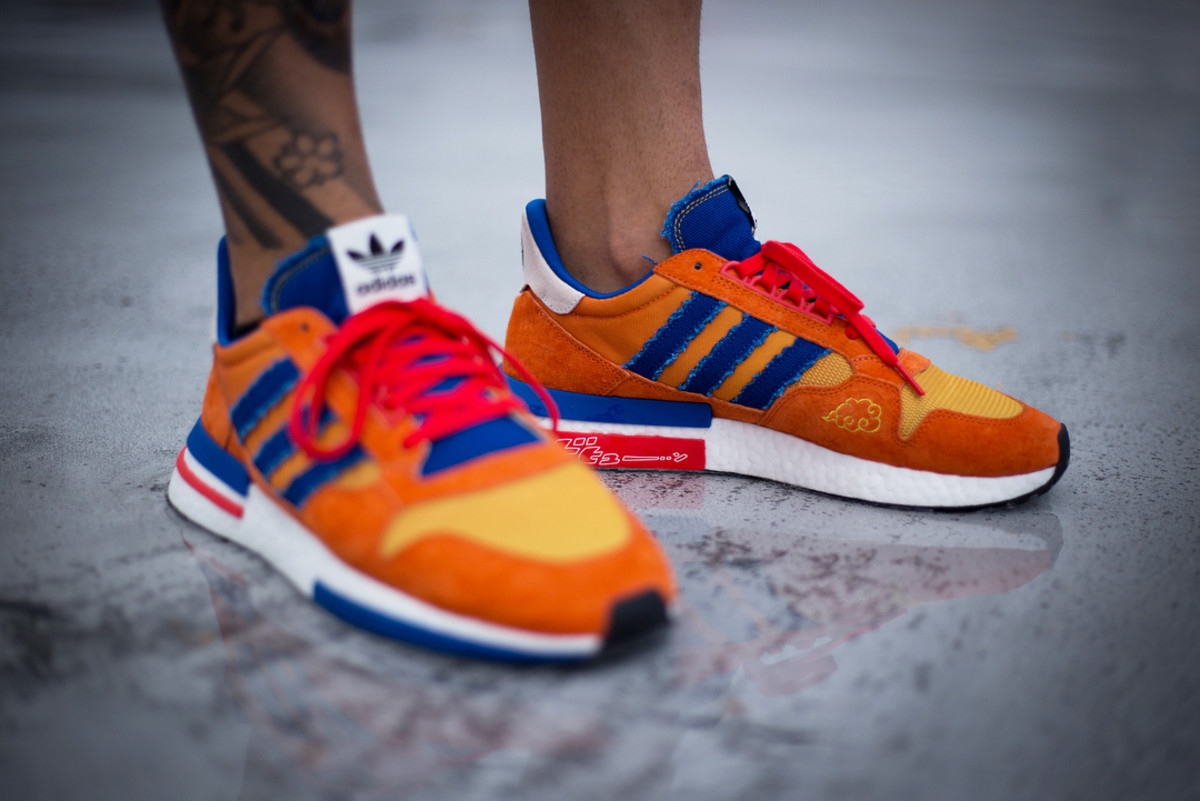 An On Foot Look At The Zx500 Rm Quot Goku Quot From Adidas