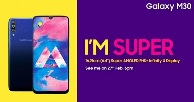 Samsung Galaxy M30 Launch Price In India, Full Specification, Feature Image, photo, picture