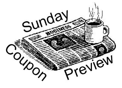 sunday coupon, where to order inserts