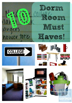 dorm room must haves list