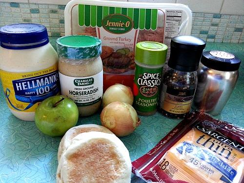 Turkey Burgers Ingredients