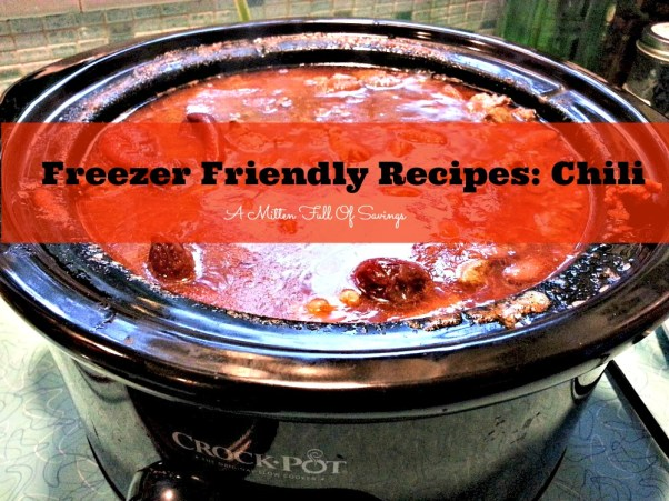 freezer friendly recipes chili