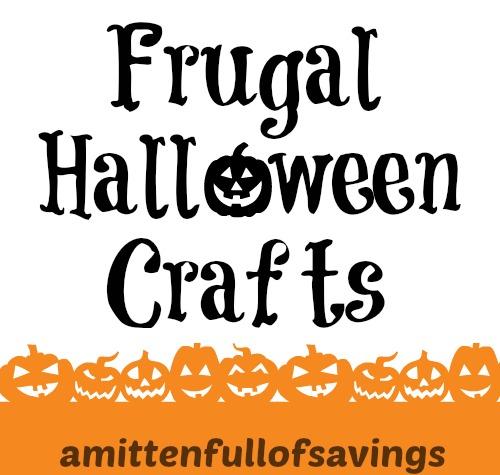 frugal halloween crafts