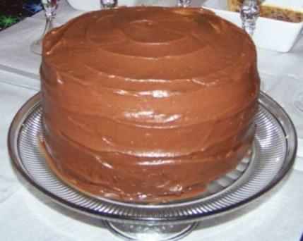 homemade chocolate cake 3