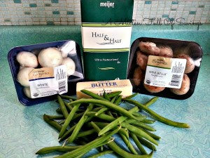 Homemade Green Bean Casserole Ingredients