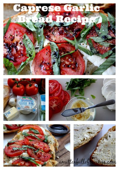 Caprese Garlic Bread Recipe process